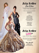 Ad for Zola Keller