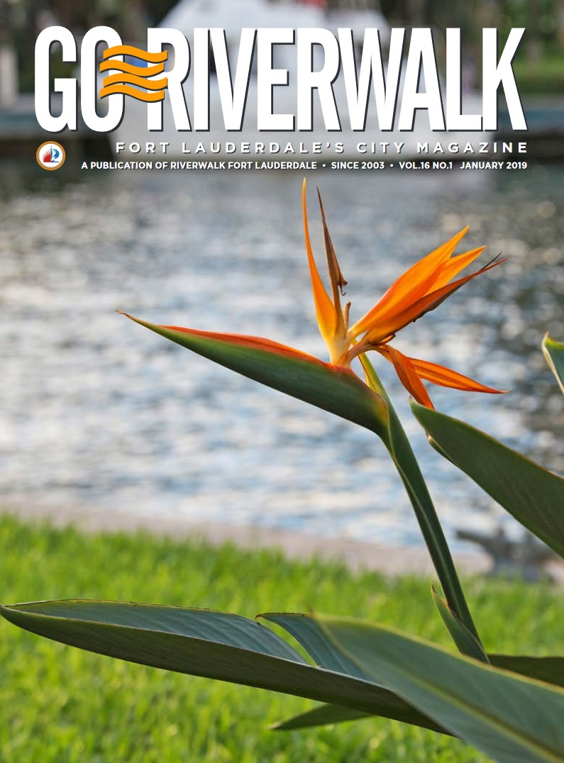 Image of the GoRiverwalk Magazine January 2019 Cover