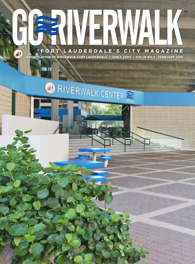 Image of the GoRiverwalk Magazine February 2019 Cover