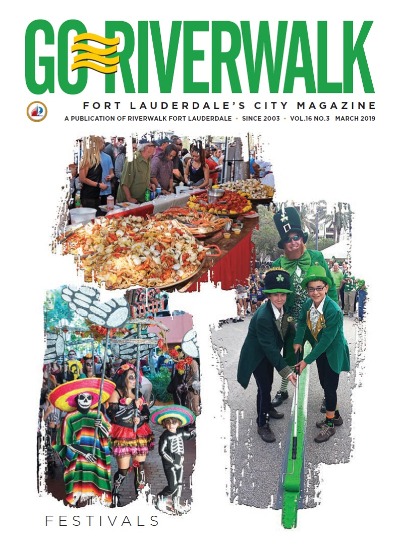 Image of the GoRiverwalk Magazine March 2019 Cover