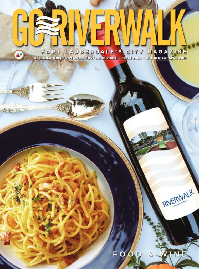 Image of the GoRiverwalk Magazine April 2019 Cover