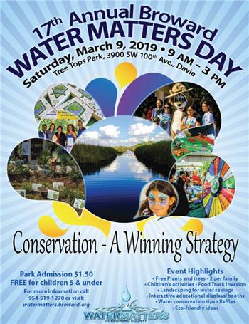 Broward Water Matters Day – Riverwalk Fort Lauderdale