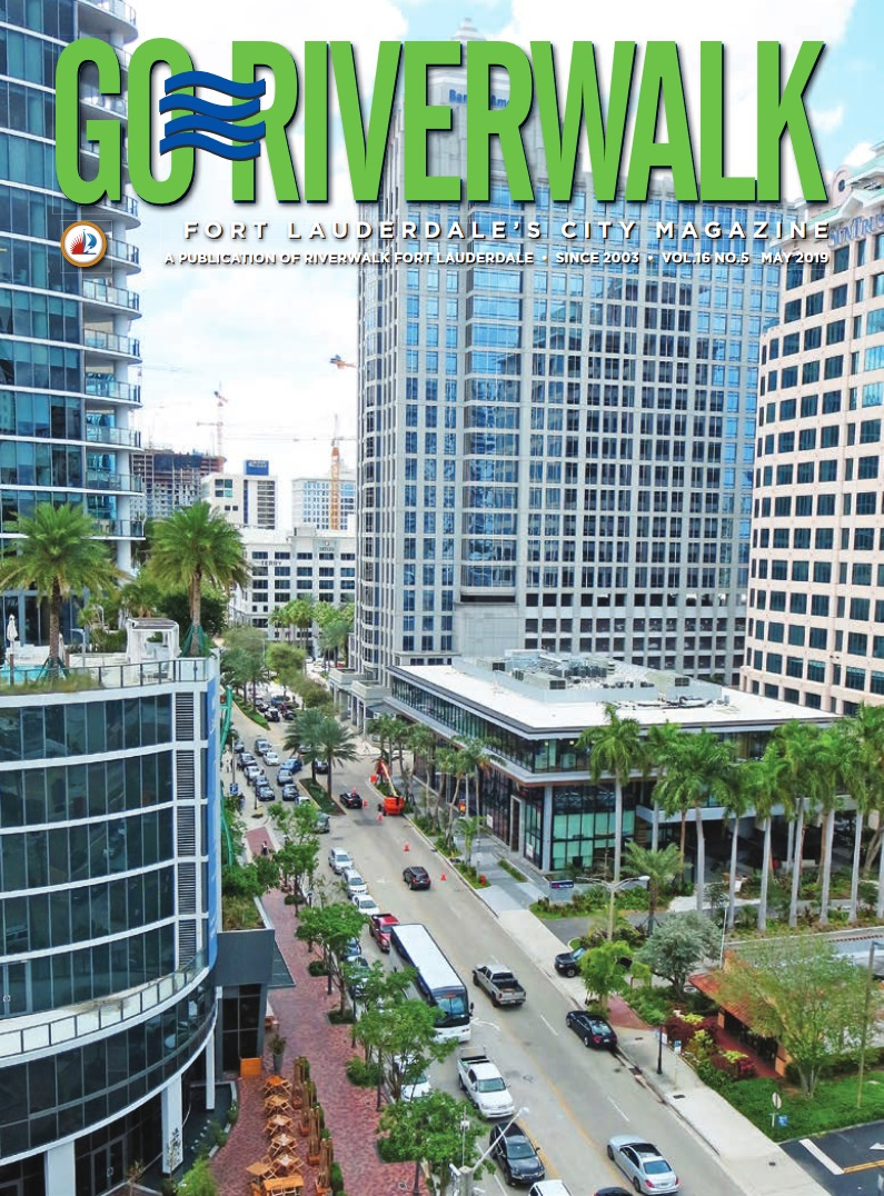 Image of the GoRiverwalk Magazine May 2019 Cover
