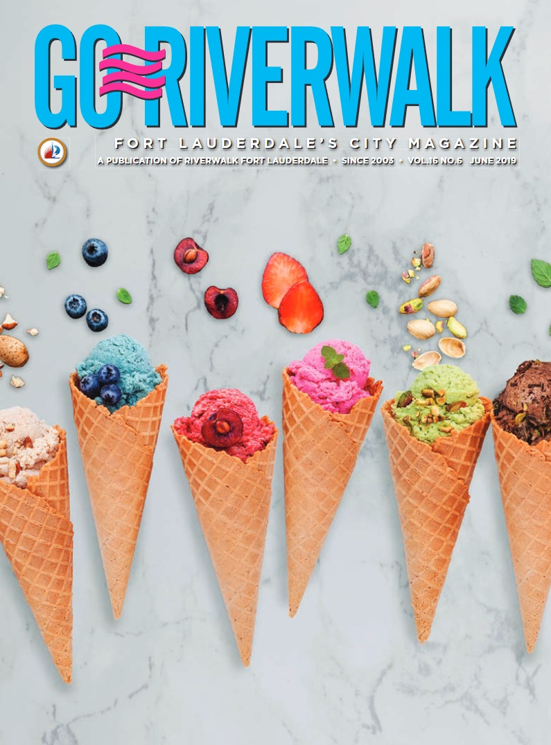 Image of the GoRiverwalk Magazine June 2019 Cover