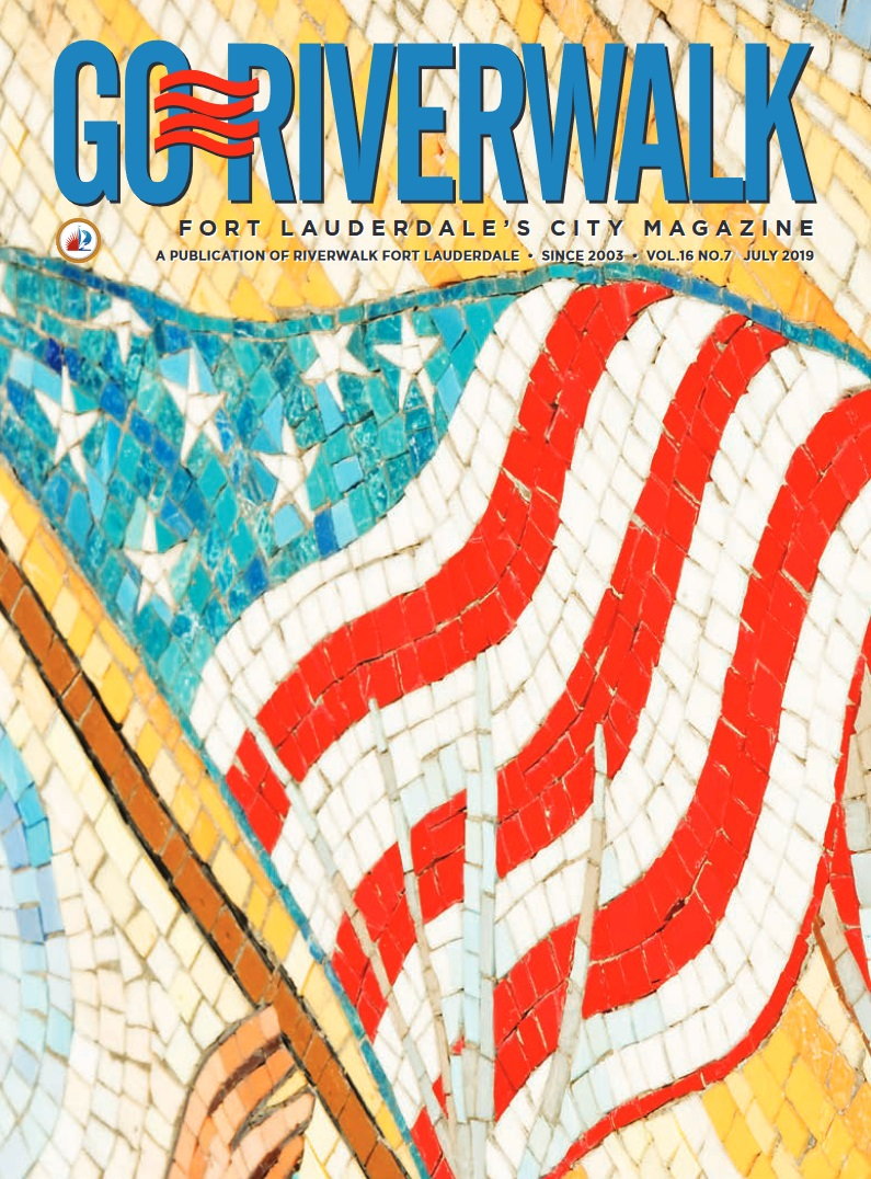 Image of the GoRiverwalk Magazine July 2019 Cover