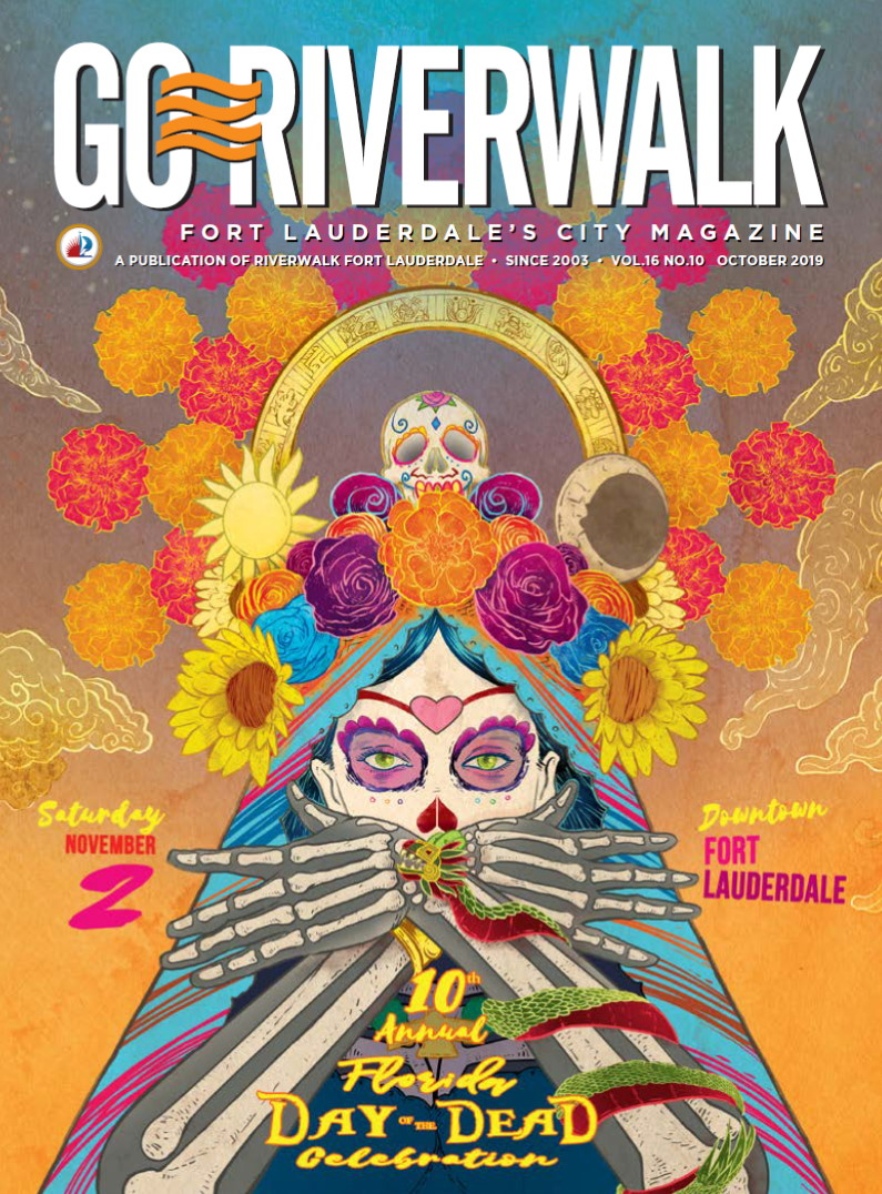 Image of the GoRiverwalk Magazine October 2019 Cover