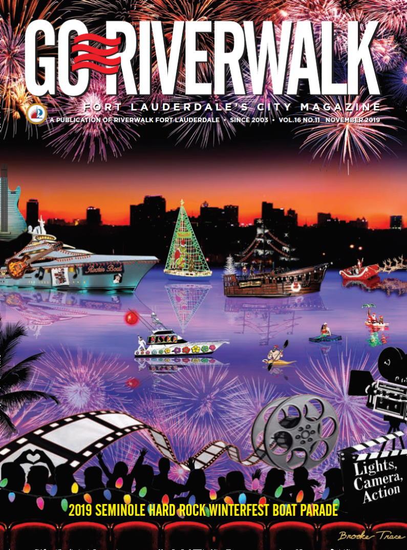 Image of the GoRiverwalk Magazine November 2019 Cover