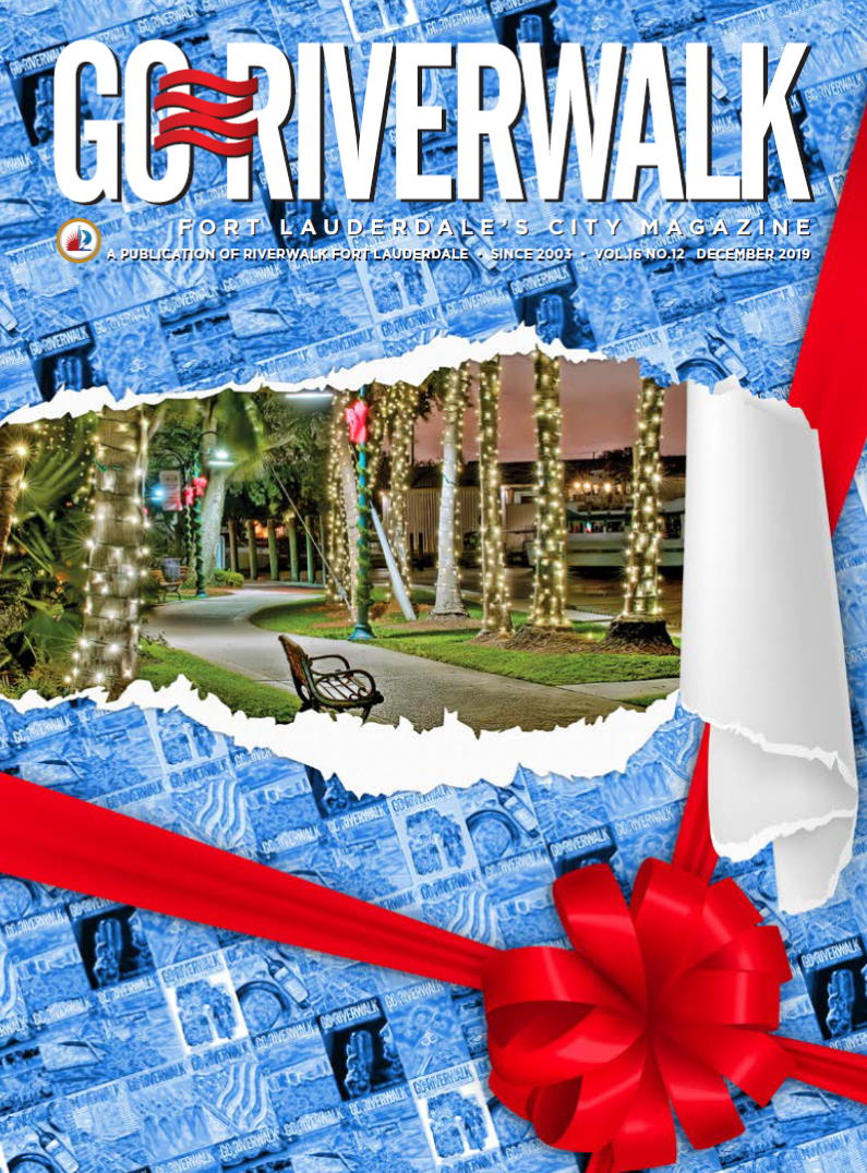 Image of the GoRiverwalk Magazine December 2019 Cover