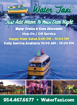 Image of the Water Taxi ad