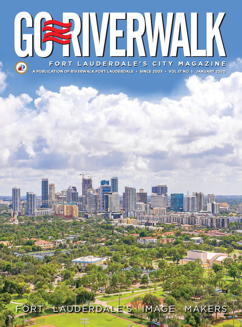 Image of the GoRiverwalk Magazine January 2020 Cover