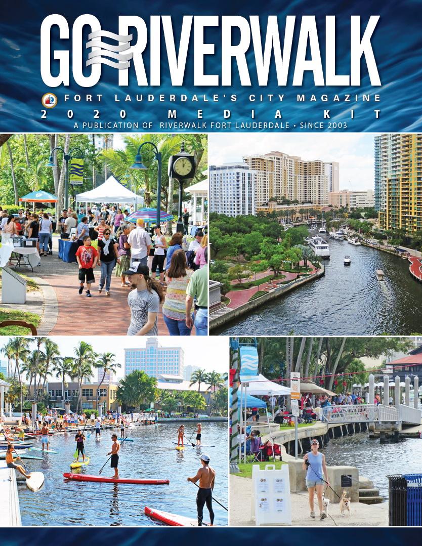 Image of the GoRiverwalk Magazine 2020 Media Kit Front Page