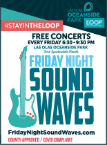 Ad for Friday Night Sound Waves