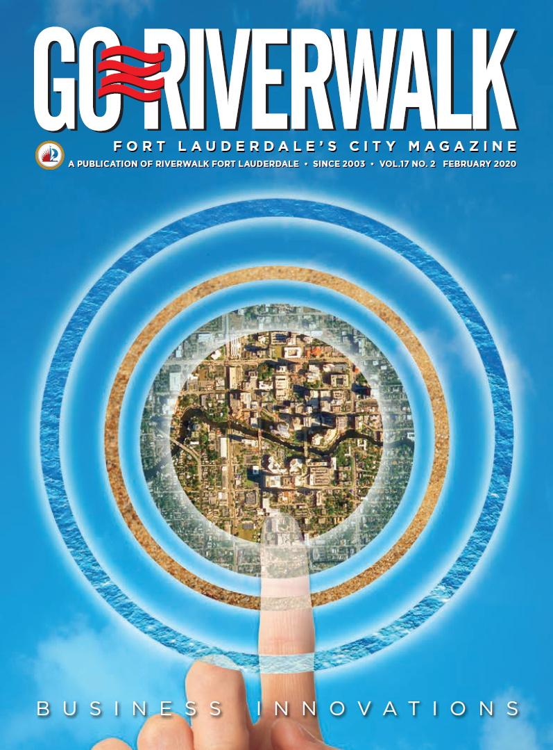 Image of the GoRiverwalk Magazine February 2020 Cover