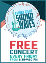 An image of an ad for Friday Night Sound Waves