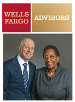 An image of an ad for Wells Fargo