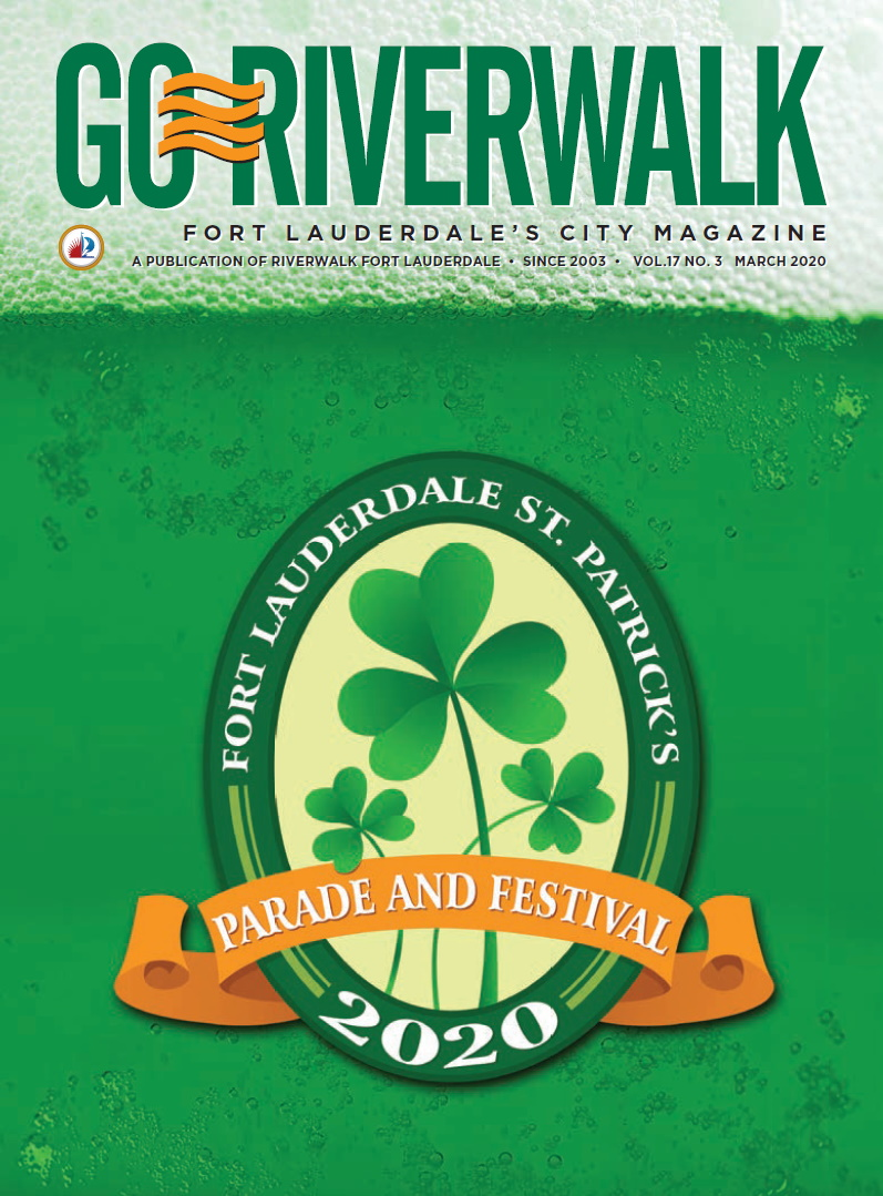 Image of the GoRiverwalk Magazine March 2020 Cover