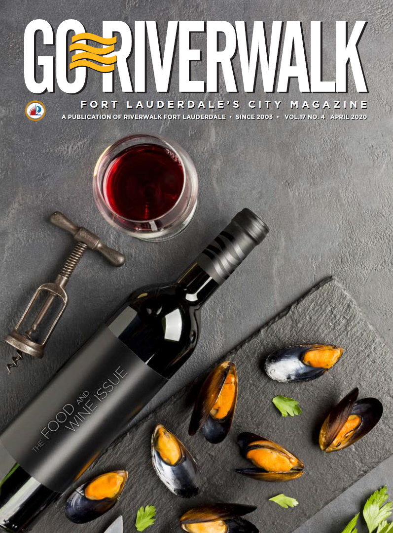 Image of the GoRiverwalk Magazine April 2020 Cover
