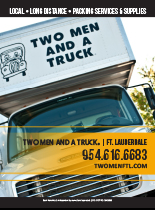 An image for an ad for Two Men & a Truck