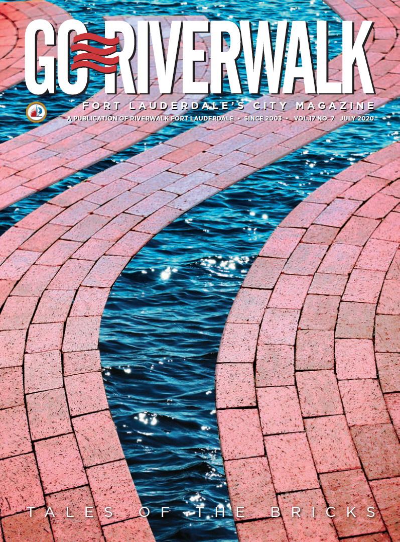 Image of the GoRiverwalk Magazine July 2020 Cover