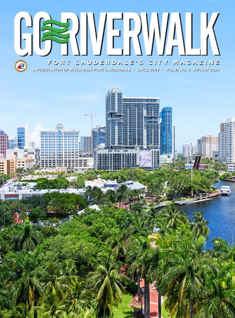 Image of the GoRiverwalk Magazine August 2020 Cover