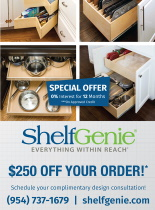 Ad for ShelfGenie