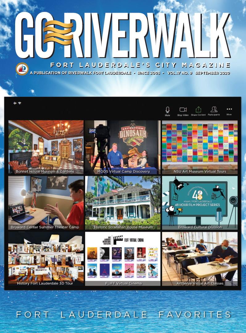 Image of the GoRiverwalk Magazine September 2020 Cover