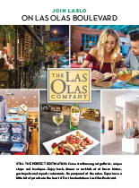 Ad for the Las Olas Company