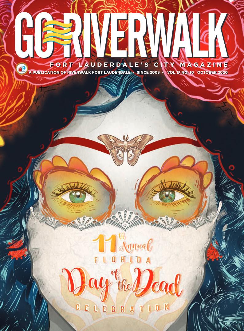 Image of the GoRiverwalk Magazine October 2020 Cover
