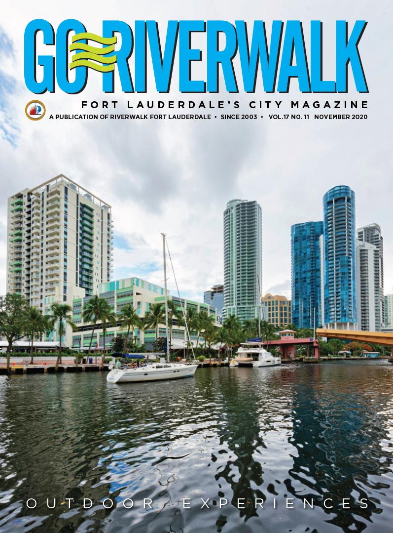 Image of the GoRiverwalk Magazine November 2020 Cover