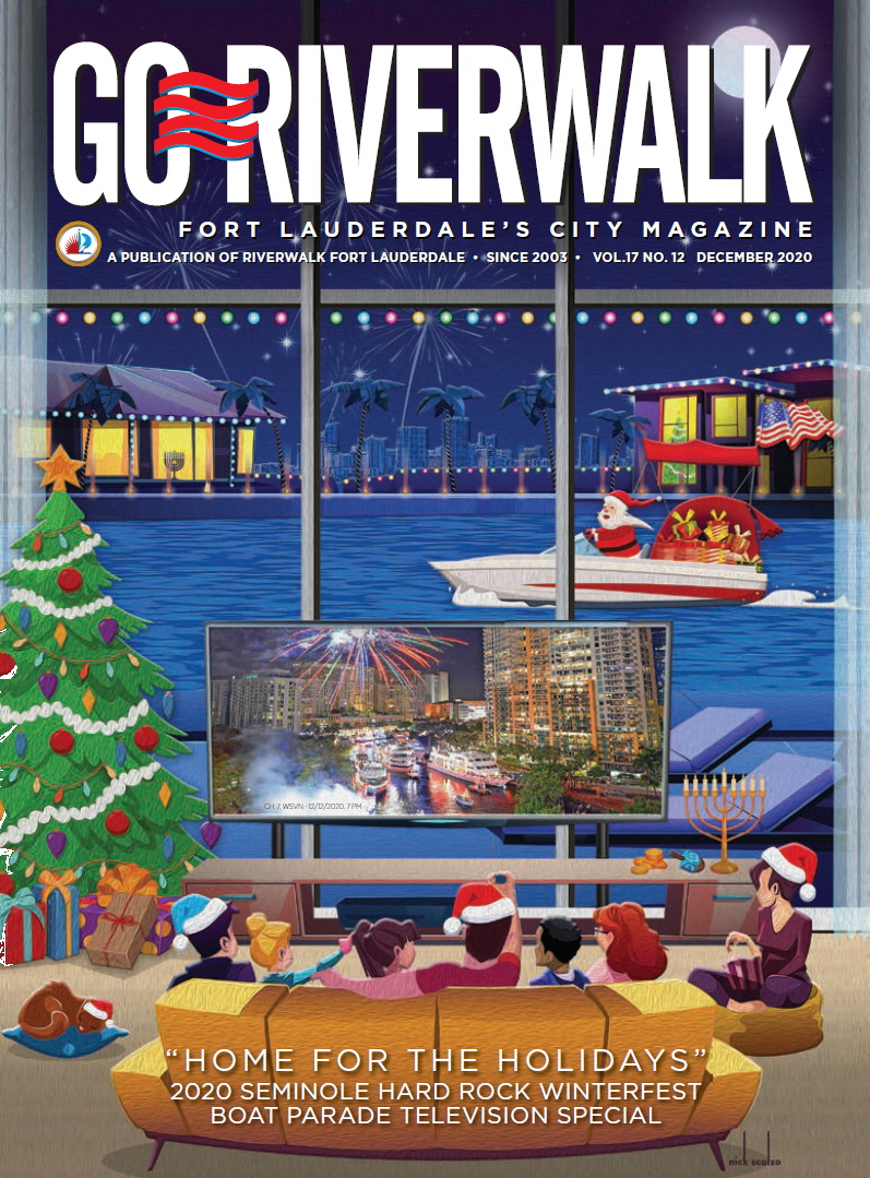 Image of the GoRiverwalk Magazine December 2020 Cover