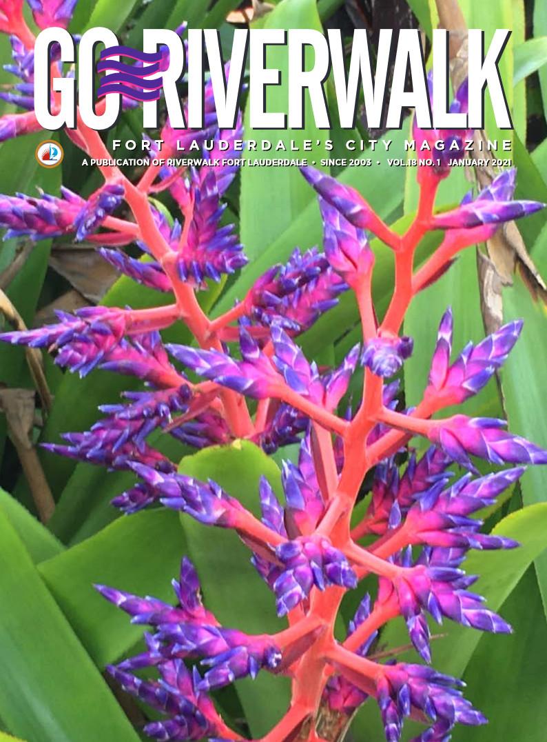 Image of the GoRiverwalk Magazine January 2021 Cover