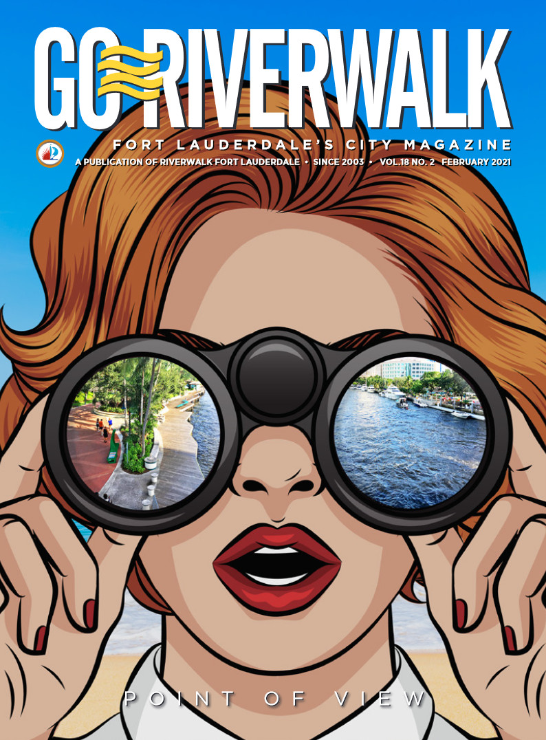 Image of the GoRiverwalk Magazine February 2021 Cover