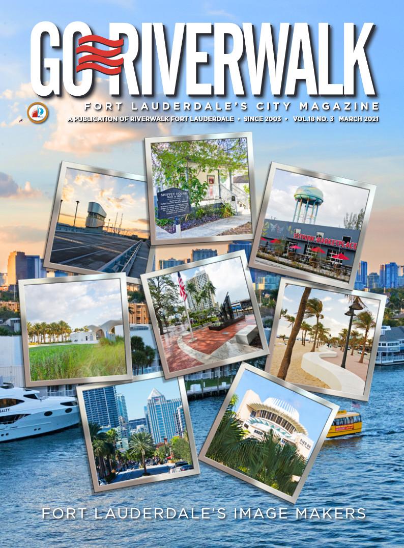 Image of the GoRiverwalk Magazine March 2021 Cover