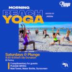Plunge Beach Resort Morning Yoga