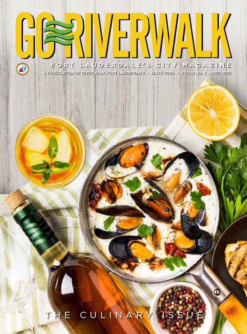 Image of the GoRiverwalk Magazine April 2021 Cover