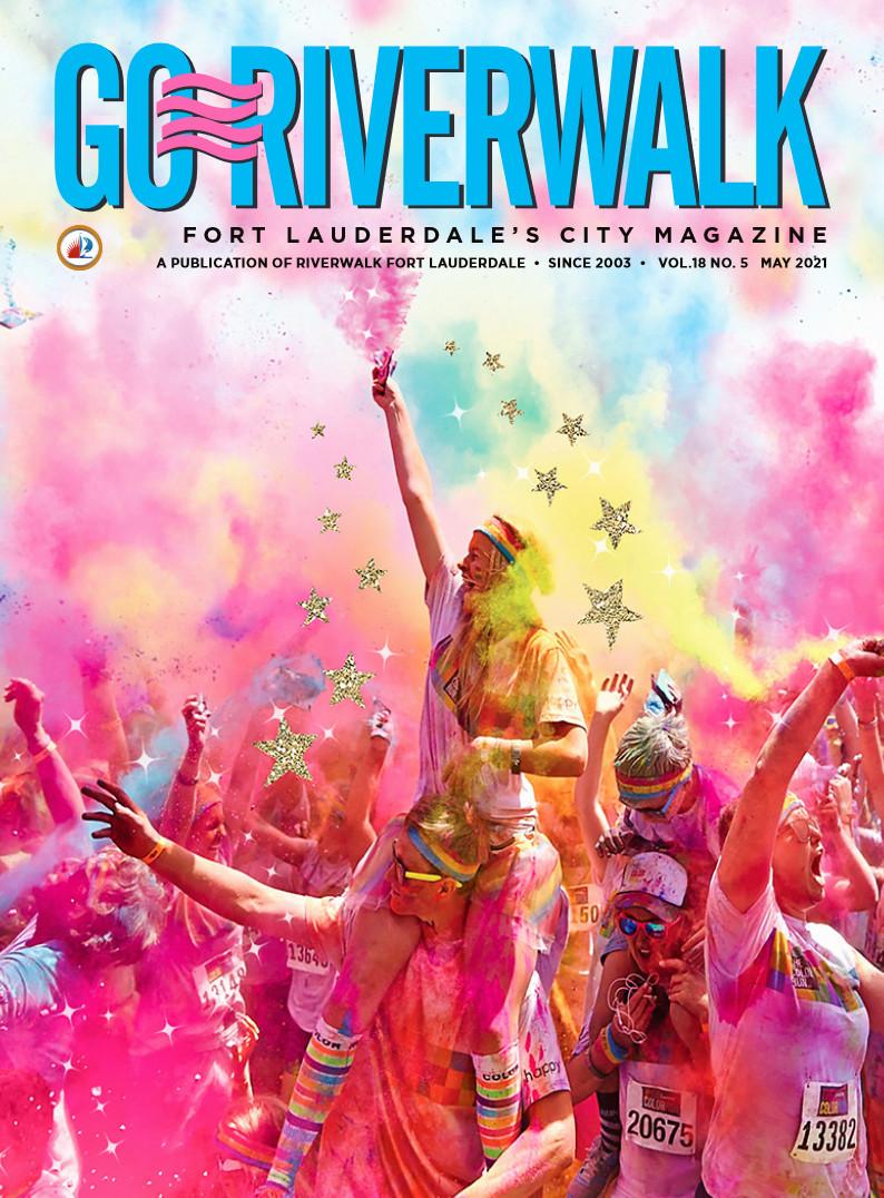 Image of the GoRiverwalk Magazine May 2021 Cover