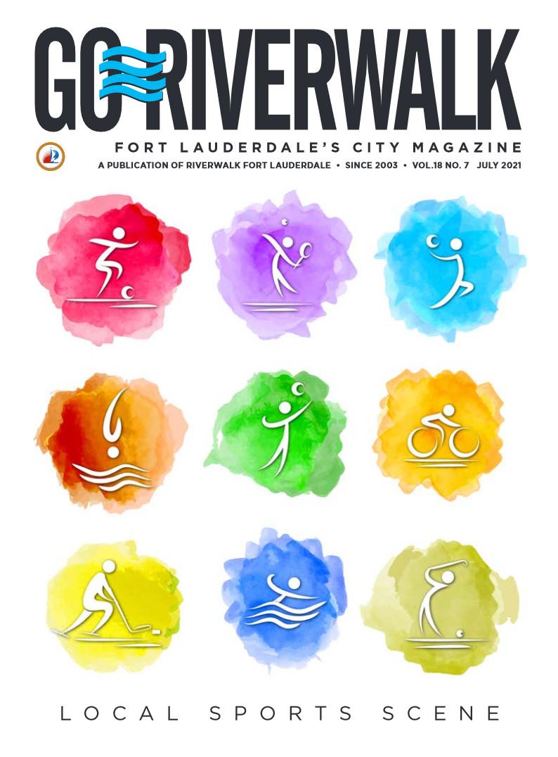 Image of the GoRiverwalk Magazine July 2021 Cover