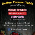 DeMurs Farmers Table (Farmers Market)