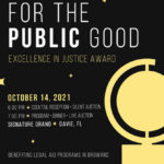 19th Annual For The Public Good Gala