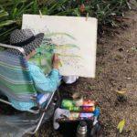 """""""Tropical Leaves""""  Watercolor Workshop"""