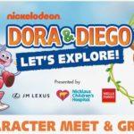 Dora & Diego Character Meet & Greet